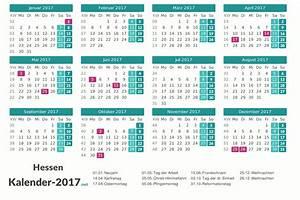 Ferien Nrw 2018 19 : kalender 2017 hessen ~ Buech-reservation.com Haus und Dekorationen