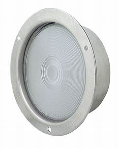 Stainless steel recessed dual system backup light