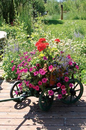 Flower Garden Wagon Planter
