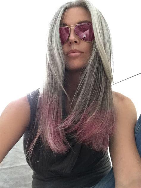 ultra chic shades  grey hair