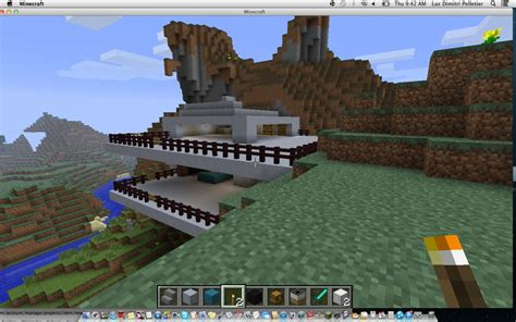 sky mountain house minecraft map