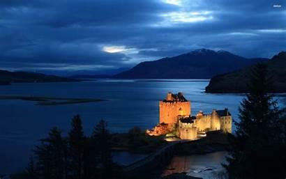 Donan Eilean Scotland Castle Highlands Scottish Loch