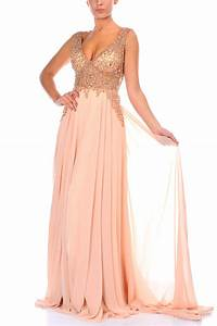 Robe longue rose poudre oh babou for Rose poudré robe