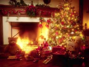 miscellaneous christmas tree and fireplace picture nr 39642
