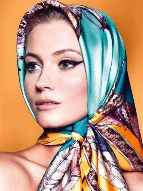 silky scarf pinup spreads charlotte  calypso november