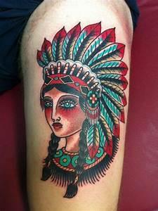 Indian Pin Up Girl Tattoo   www.pixshark.com - Images ...