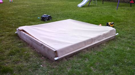 covered litter box diy cover stops cats from treating my kid s sandbox like a