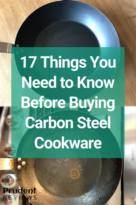 carbon steel cookware pros  cons       buy   carbon steel