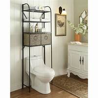 over toilet storage 4D Concepts Windsor 24 in. W x 71.5 in. H x 15 in D Metal ...
