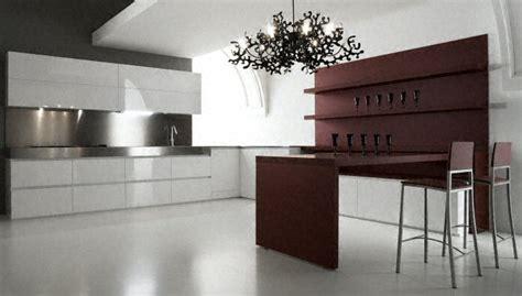 plan de travail ilot cuisine cuisine plan de travail en îlot de cuisine moderne en inox