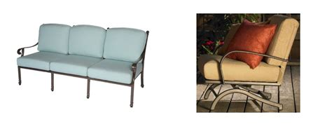 should you buy iron wooden or aluminum sling patio chairs