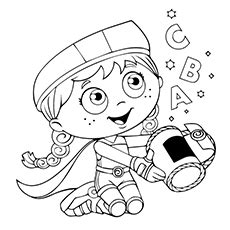 Alpha Pig Coloring Pages at GetColorings com Free