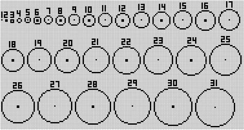 minecraft circle chart minecraft building