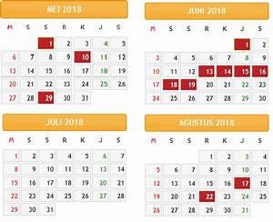 kalender 2018 indonesia lengkap dengan hari libur nasional With 2017 september 1 2018 agustus 31