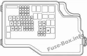 Fuse Box Diagram  U0026gt  Mazda 3  Bl  2010