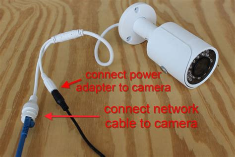 connect  ip camera   computer cctv camera