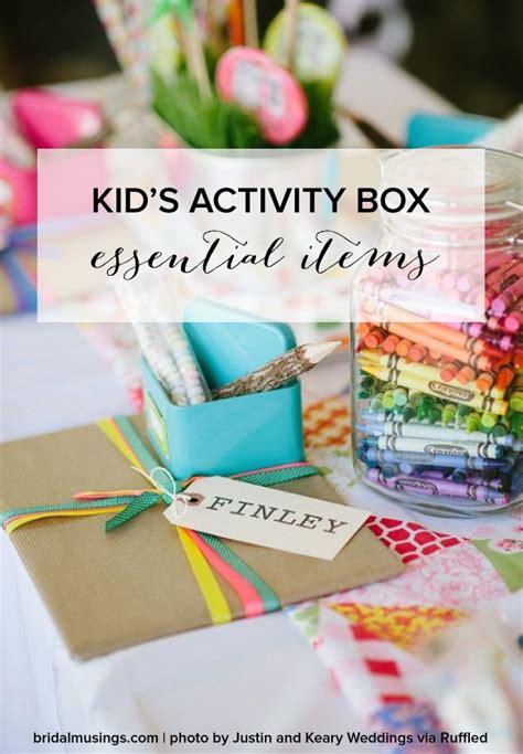 include   childs wedding activity pack wedding  kids wedding reception