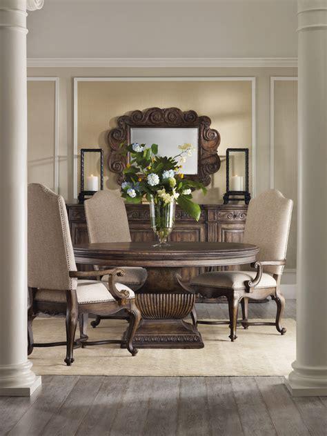 hooker furniture rhapsody   dining table set