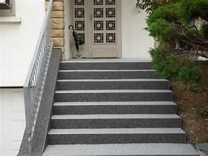 Revetement Escalier Exterieur : granulat de marbre pour moquette de pierre tout savoir ~ Premium-room.com Idées de Décoration