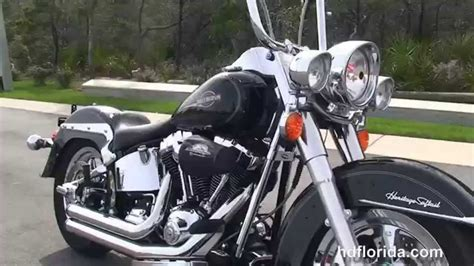 Used 2007 Harley Davidson Heritage Softail Classic