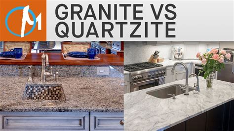 Vs Granite granite vs quartzite countertops marble