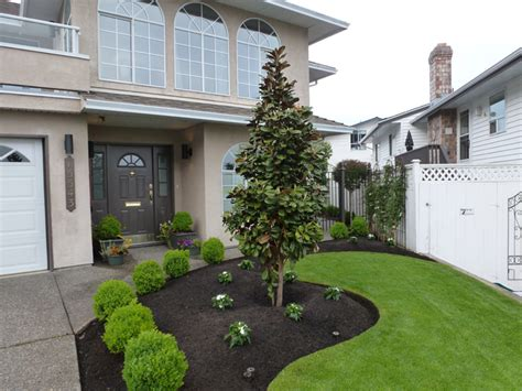 front yard landscaping makeover white rock bc