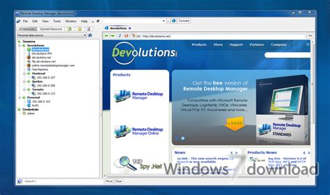 remote desktop manager  windows  manage remote