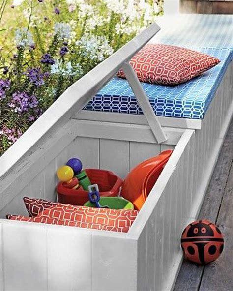 ingenious  practical diy yard storage solutions