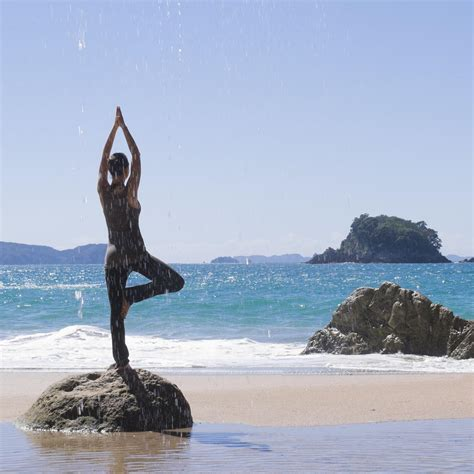 The Best Beach Vacations To Get Your Yoga Om  Shape Magazine