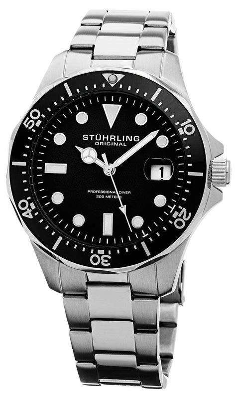 Stuhrling Original Regatta Quartz Divers 200m 82401 Mens