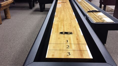used outdoor shuffleboard table scratch dent olhausen shuffleboard 50 off