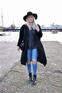 OUTFIT BLACK LEATHER SHIRT ASOS ZAZRA BOOTS RIPPED JEANS ASOS (2) - SFFTE.com