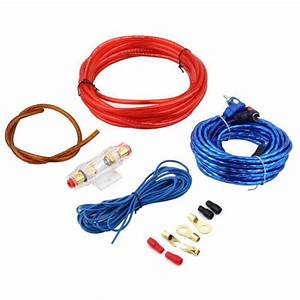 New 1500w Car Audio Wire Wiring Amplifier Cable Subwoofer