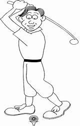 Coloring Golf Pages Sports Printable Sport Boy General Themed Doing Realistic Disney Golfer Printables Widgets Mega sketch template