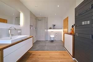 Badezimmer Waschtisch Holz : badezimmer sanieren eichenhaus schreinerei architekturb ro ~ Frokenaadalensverden.com Haus und Dekorationen