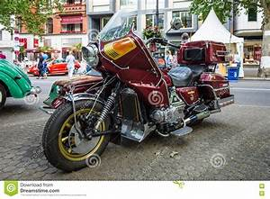 Motorcycle With Sidecar Honda Gold Wing Gl1100 Full