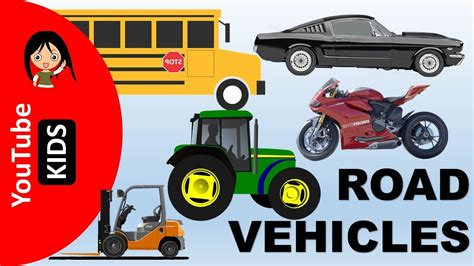 Learn Road Transport Vehicles Names And Sounds