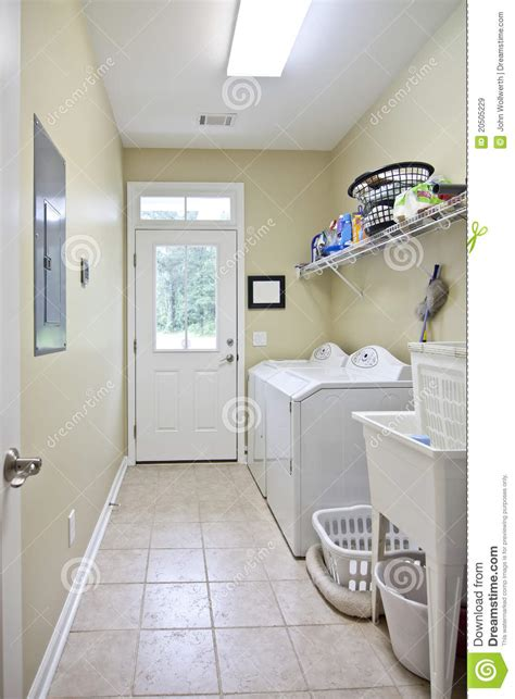 simple laundry room royalty  stock images image
