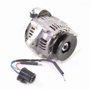 12 Volt Amp Small Alternator 40 Amp Negative Ground With Excite Wire