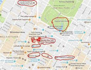 Hotel area map with nearby major attractions - Picture of ...