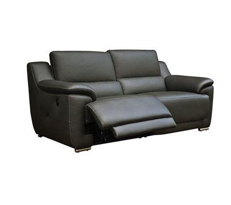 canapé 3 places relax electrique best 25 canape cuir gris ideas on canapé cuir