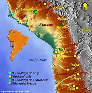 Map Of The Study Area In The Desert Andes Of South America