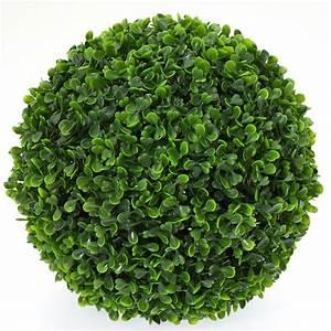 Grande Plante Artificielle : grande boule de buis artificiel 27 cm plantes artificielles d coration ~ Teatrodelosmanantiales.com Idées de Décoration
