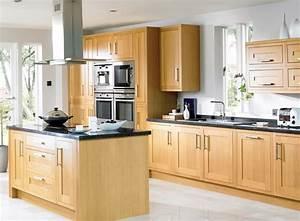 cuisine bois moderne cuisine imitation bois avec gris With wonderful meuble de cuisine rustique 14 cuisine amenagee et equipee