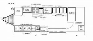 Food Truck Floor Plans | Food Trucks | Pinterest | Food ...
