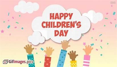 Happy Children Animated English Quotes