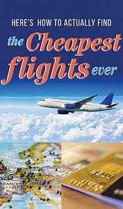 Here's How You Can Actually Find The Cheapest Flights Ever ...