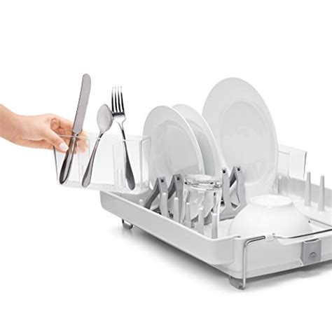 oxo grips folding stainless steel dish rack oxo grips convertible foldaway dish rack stainless