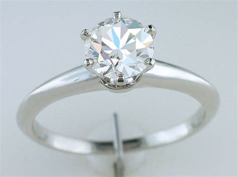 co certified 1 04ct diamond solitaire platinum engagement ring ebay