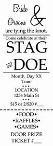1000 images about stag and doe on pinterest stag and With stag tickets template free